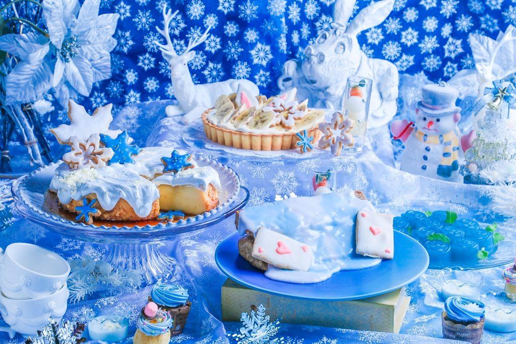 アリスのスィーツビュッフェ Blue snow collection ブルー スノー コレクション