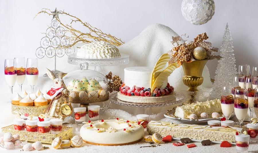 デザートビュッフェ アリスのホワイトクリスマス~白いうさぎを追いかけて~