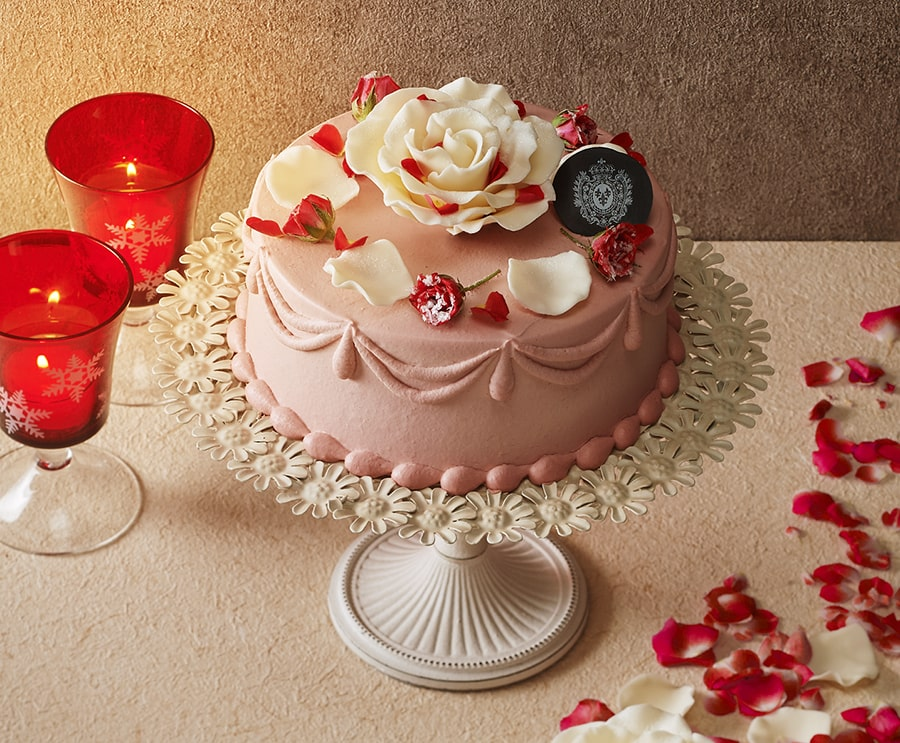 【ドゥボーヴ・エ・ガレ】Gateau a la rose aime de la rein(王妃の愛したバラのケーキ)