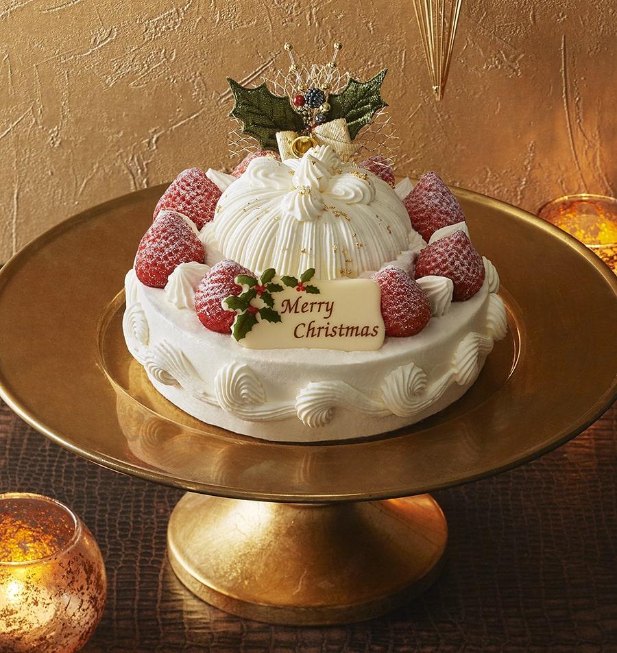 【東京會舘】苺のクリスマスマロンシャンテリー