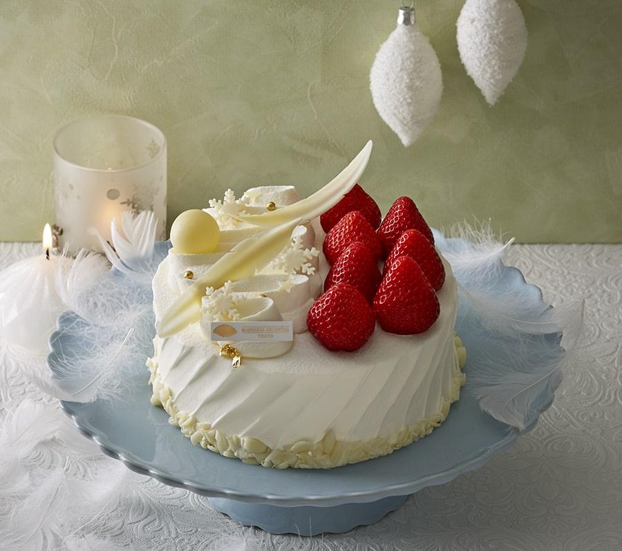 【マンダリンオリエンタル 東京】クリスマス ストロベリーショートケーキ