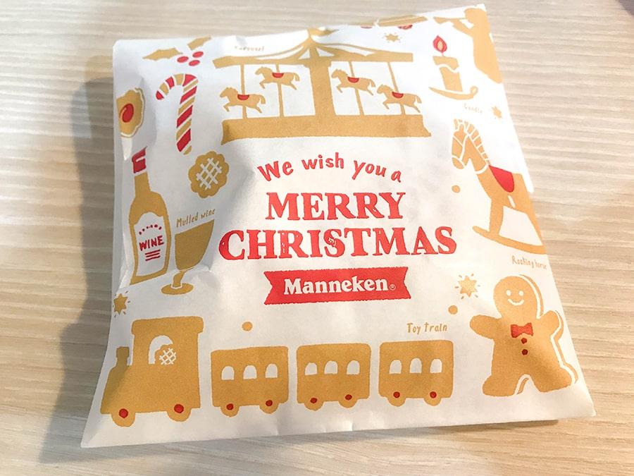 紙袋もクリスマス