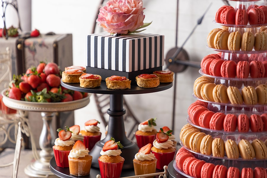 「Strawberry in Paris パリに恋して」ストロベリースイーツビュッフェ