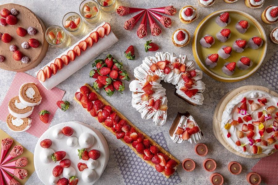 【ヒルトン小田原リゾート&スパ】いちごだらけのデザートビュッフェ~Very Berry Strawberries~