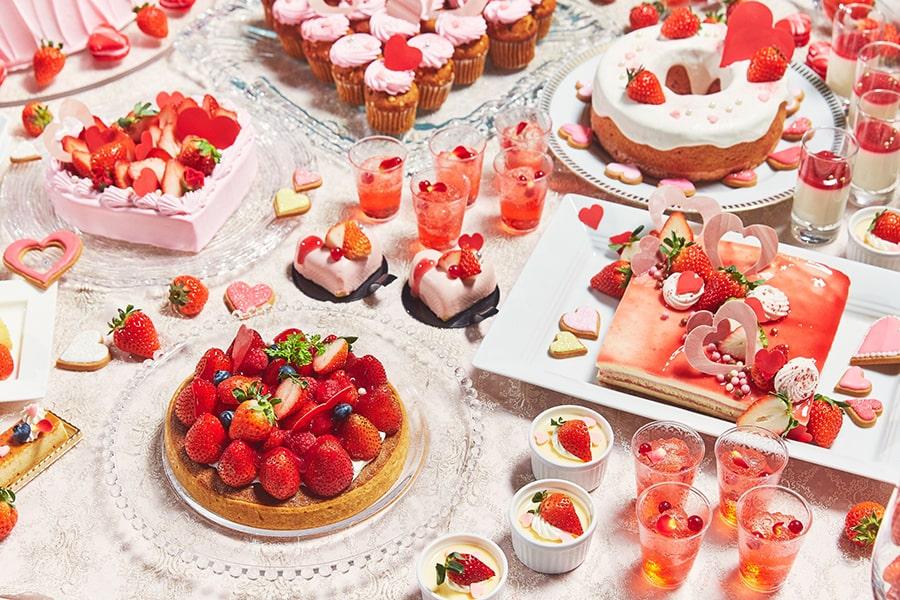 恋するイチゴのデザートブッフェ2020