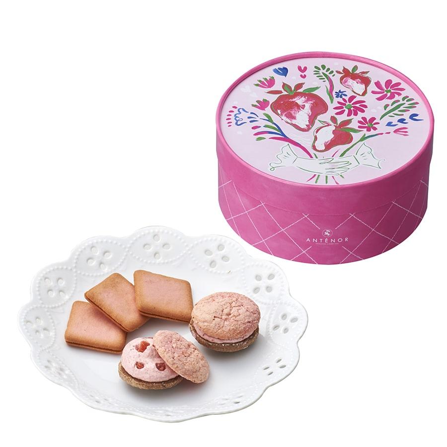 【アンテノール】苺の焼き菓子セット