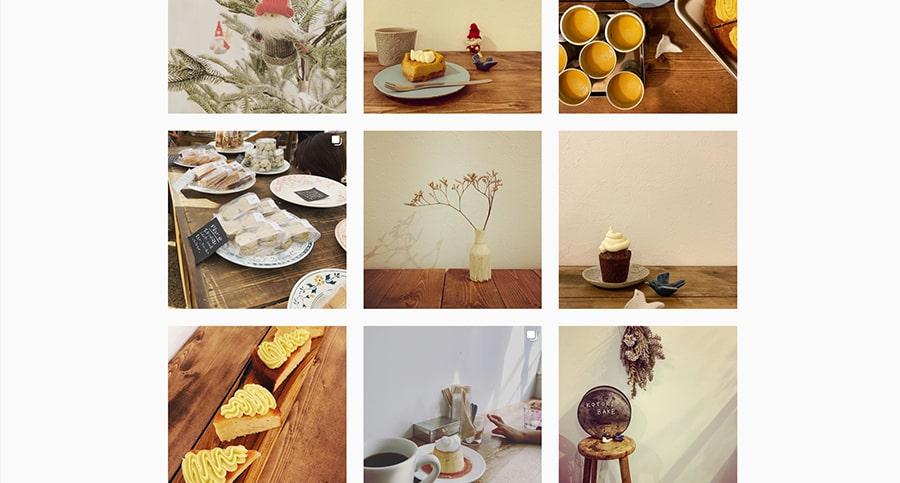 【KOTORI BAKE】Instagram スクリーンショット